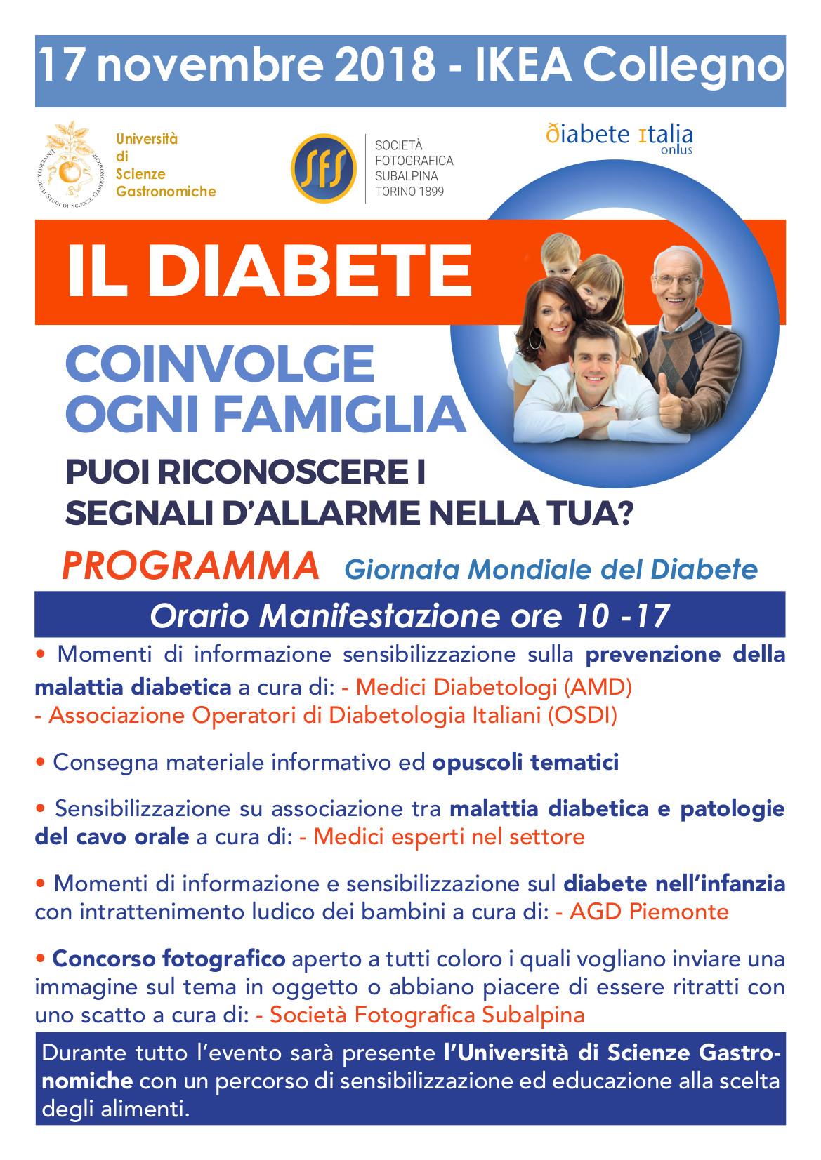 Giornata Mondiale Del Diabete 2018 Agd Piemonte E Valle D
